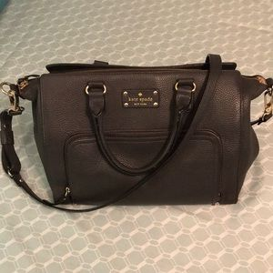 Kate Spade ♠️ Large Satchel. 100% Soft Cow-Leather
